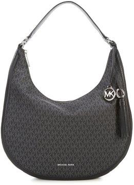 MICHAEL Michael Kors Signature Lydia Large Hobo Bag - BLACK - STYLE