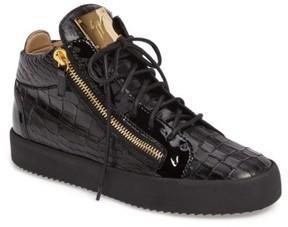 Giuseppe Zanotti Men's Mid Top Sneaker