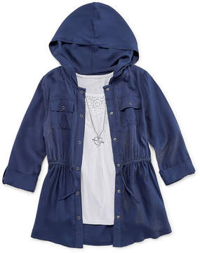 Knitworks Knit Works 3/4 Sleeve Anorak Jacket and Tank - Girls' 7-16