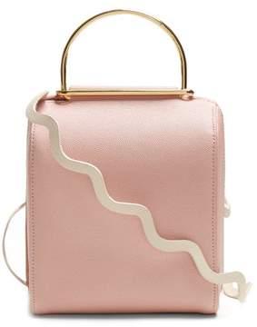 Roksanda Besa Top Handle Leather Shoulder Bag - Womens - Pink Multi