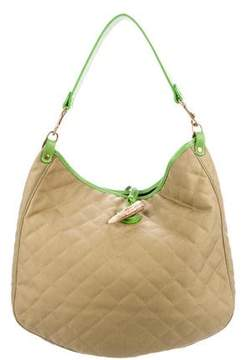 MZ Wallace Quilted Canvas Hobo