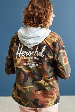 Herschel Camo Coach Jacket
