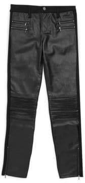 Tractr Girl's Lea Moto Skinny Pants