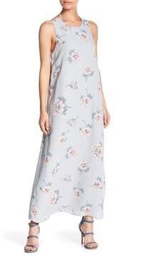 J.o.a. Sleeveless Floral Print Dress
