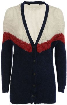 Chiara Bertani Color Block Cardigan