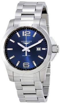 Longines Conquest Blue Dial Stainless Steel Men's Watch