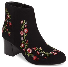Callisto Women's Veronaa Embroidered Bootie