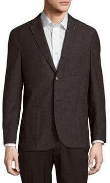 Michael Bastian Modern-Fit Wool & Cotton Blazer