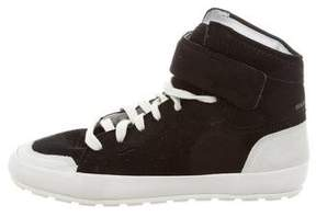 Etoile Isabel Marant Bessy Hip Hop High-Top Sneakers
