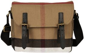 Burberry Checked Shoulder Bag