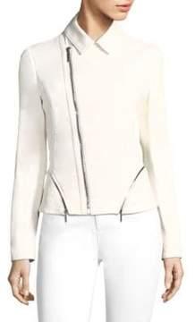 Elie Tahari Emalia Leather Jacket