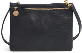 Clare Vivier Jumelle Leather Crossbody Bag