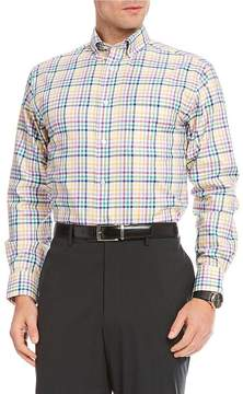 Daniel Cremieux Signature Royal Oxford Check Long-Sleeve Woven Shirt