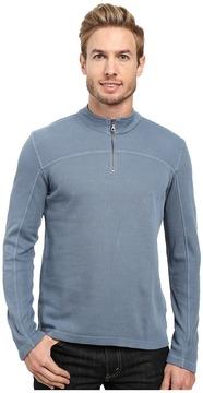 Agave Denim Butte Long Sleeve Flatback Rib Men's Long Sleeve Pullover