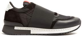 Givenchy Runner Active low top nylon and leather trainers