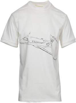 Ih Nom Uh Nit Plane Print T-shirt