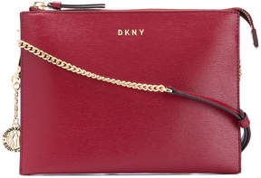 Donna Karan flat crossbody wallet bag