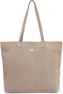 Toms Taupe Suede Embroidered Cosmopolitan Tote