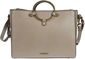 Rebecca Minkoff Ring Satchel - TAUPE - STYLE
