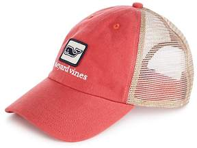 Vineyard Vines Logo Low Profile Trucker Hat