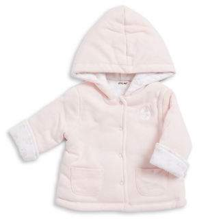 Little Me Baby Girl's Reversible Floral Jacket
