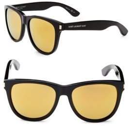 Saint Laurent Surf 54MM Wayfarer Sunglasses
