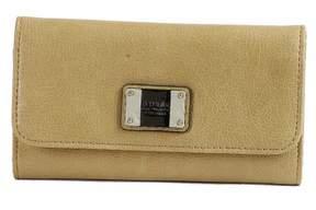 GUESS Women's Tri-Fold Camel Wallet VG425551 Ilya SLG Clutch
