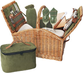 Asstd National Brand Picnic Time Somerset Picnic Basket for Two
