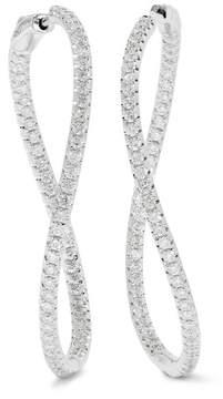 Anita Ko Twisted 18-karat White Gold Diamond Earrings