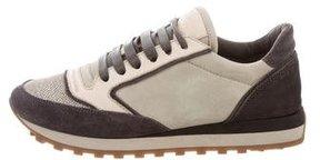 Brunello Cucinelli Suede Low-Top Sneakers