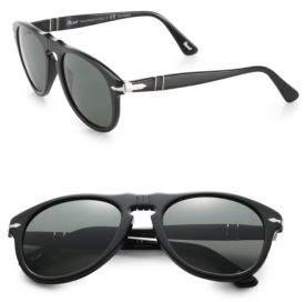 Persol Retro Keyhole Sunglasses