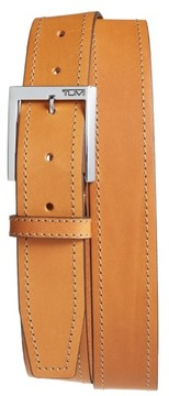 Tumi Men's Leather Belt