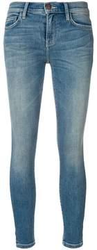 Current/Elliott slit side leg skinny jeans