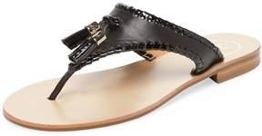Jack Rogers Women's Alana Leather Thong Sandal