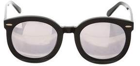 Karen Walker Mirrored Arrow Sunglasses