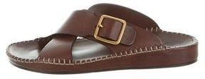 Tom Ford Leather Slide Sandals
