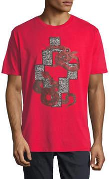 Marcelo Burlon County of Milan Emerk Snake-Print Graphic T-Shirt