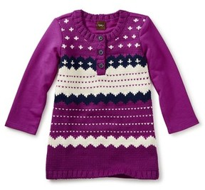 Tea Collection Infant Girl's Fair Isle Sweater Dress