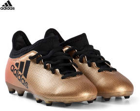 adidas Black, Gold and Red X 17.3 Firm Ground Football Boots