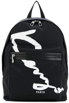 Kenzo Men's F765sf213f22nero Black Polyester Backpack.
