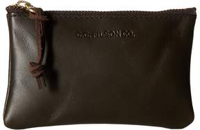 Filson Small Leather Pouch Handbags