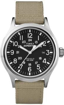 Timex Men's Expedition Scout Watch, Tan Nylon Strap