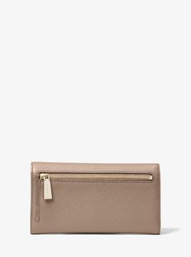 MICHAEL Michael Kors Leather Tri-Fold Wallet