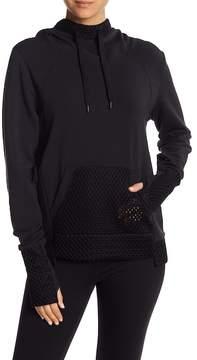Alo Eclipse Long Sleeve Mesh Detailed Sweatshirt