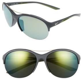 Women's Nike Flex Momentum 66Mm Sunglasses - Matte Anthracite