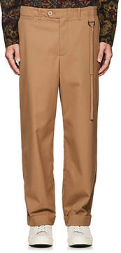 Craig Green Men's Pick-Stitched Twill Trousers