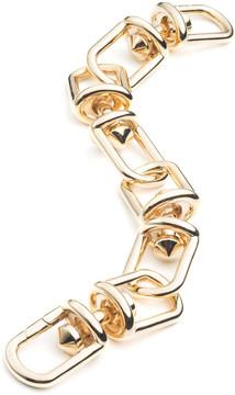 Eddie Borgo Frame Link Bracelet in Gold
