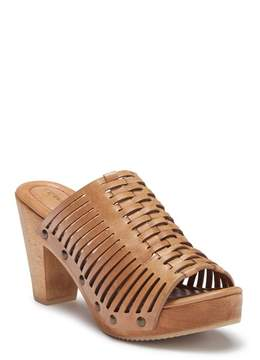 Trask Wendy Block Heel Mule Sandal