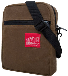 Manhattan Portage Waxed Canvas City Lights (Small)