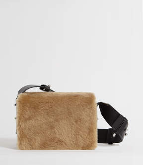 AllSaints Versailles Lea Leather Shoulder Bag